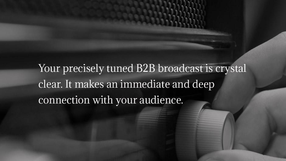 b2b broadcast